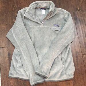 Women's XL Grey Patagonia Pullover